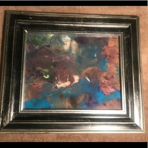 Abstract Art & Frame